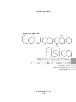 PRÁTICA EDUCATIVA: PROJETO INTEGRADO VI