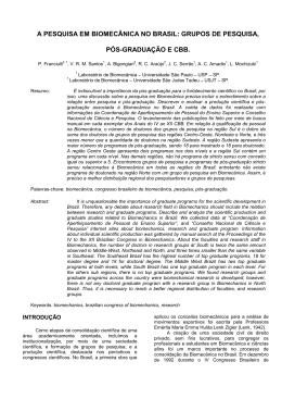 Versão de Impressão - Universidade de São Paulo