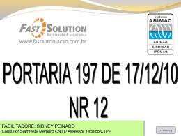 NORMA REGULAMENTADORA NR - 12