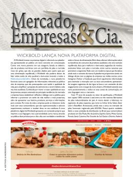 MERCADOS, EMPRESAS E CIA