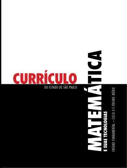 Currículo de Matemática - Secretaria da Educação