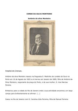 CONDE DA SILVA MONTEIRO António da silva Monteiro Hospital