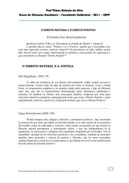 Prof Vilmar Antonio da Silva Curso de Ciências