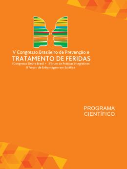 PROGRAMA CIENTÍFICO - V Congresso Brasileiro de Tratamento