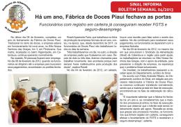 Há um ano, Fábrica de Doces Piauí fechava as portas