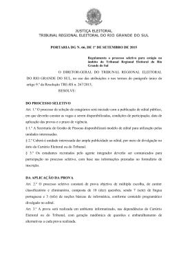 Cópia do documento original - Tribunal Regional Eleitoral do Rio