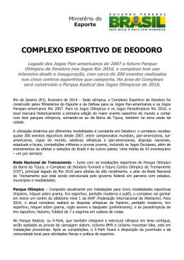 Complexo Esportivo de Deodoro