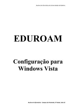 Configuração para Windows Vista - Moodle