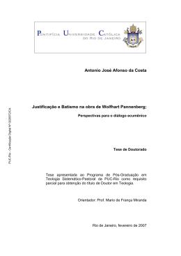 Antonio José Afonso da Costa