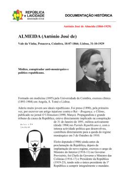 ALMEIDA (António José de)
