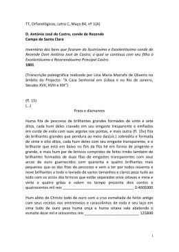TT, Orfanológicos, Letra C, Maço 84, nº 1(A) D. António José de