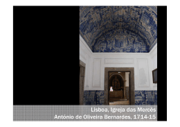 Lisboa, Igreja das Mercês António de Oliveira Bernardes, 1714-15