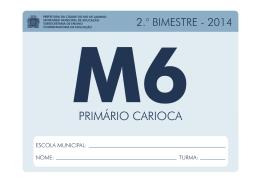 Caderno Pedagógico Matemática - 6º Ano