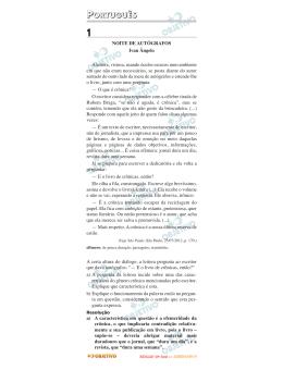 Resolução - Curso Objetivo