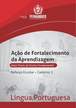 Caderno de Ações para Fortalecimento da Aprendizagem da