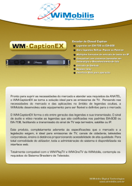 folheto do WM-CaptionEX.
