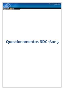 Questionamentos RDC1 – Hytera