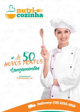 Cardápio PDF - Nutri Cozinha