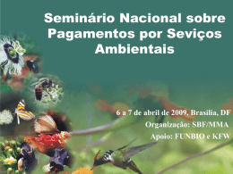 """Conservation and Management of Pollinators for Sustainable"