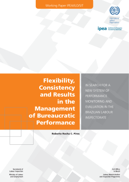 Flexibility, Consistency and Results in the Management of
