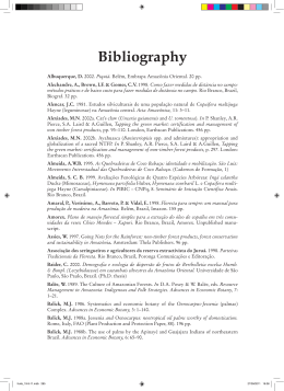 Bibliography - Food and Agriculture Organization of the United Nations