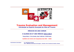 Trauma Evaluation and Management