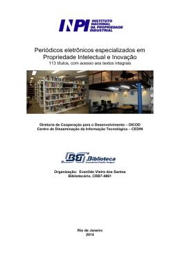 Periódicos eletrônicos especializados em Propriedade