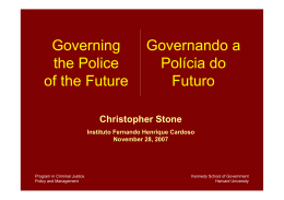 Christopher Stone - Instituto Fernando Henrique Cardoso