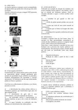 01 - (IFSC/2015) - colégio machado de assis