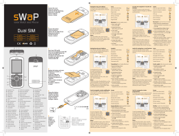 Dual SIM - sWaP watch phone