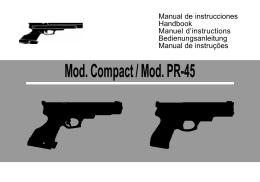 Mod. Compact / Mod. PR-45