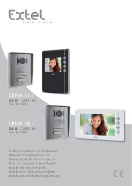 Loona light for Visiophone extel lena 18