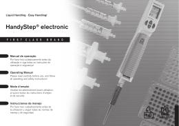 HandyStep® electronic