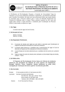 Pró-Reitor Acadêmico da Universidade Veiga de Almeida, no uso