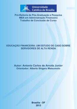 Antonio Carlos de Arruda Junior - Universidade Católica de Brasília