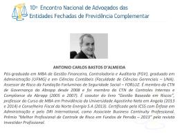 Antonio Carlos Bastos d´Almeida