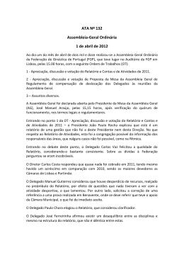 1 de abril de 2012 - Federação de Ginástica de Portugal