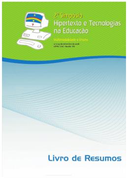 Livro de resumos digital - Universidade Federal de Pernambuco