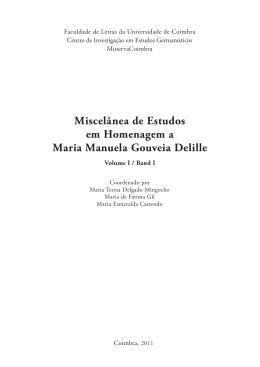 Miscelânea de estudos