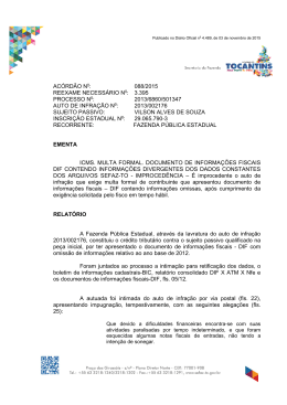 ACÓRDÃO 088 - VILSON ALVES DE SOUZA