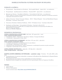 CV Completo - Dental Prime Clinic