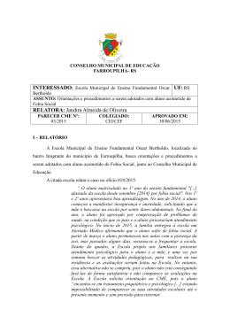 UF: RS RELATORA: Jandira Almeida de Oliveira