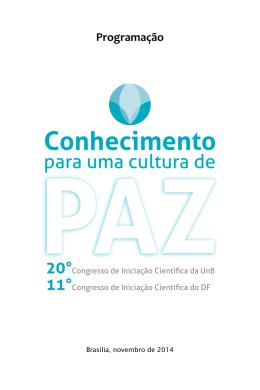 Conhecimento - Universidade de Brasília