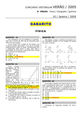 Gabarito - 2º dia - Educação