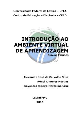 introdução ao ambiente virtual de aprendizagem - CEAD