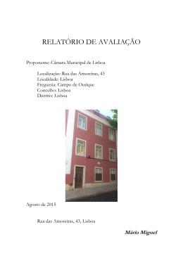 Rua das Amoreiras, 43 - avaliação imobiliária