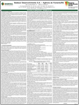 Badesul Desenvolvimento SA – Agência de Fomento/RS