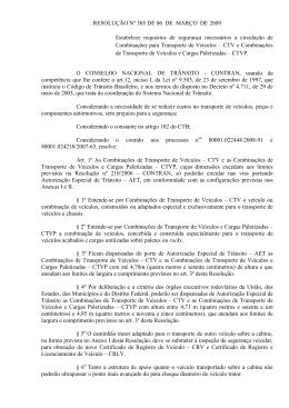 Resolução nº 305 do CONTRAN