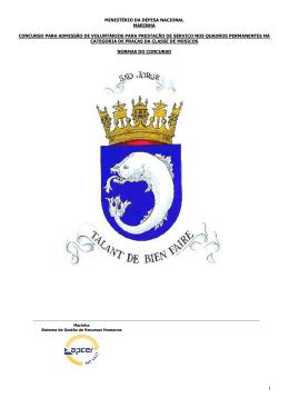 ministério da defesa nacional marinha concurso para admissão de
