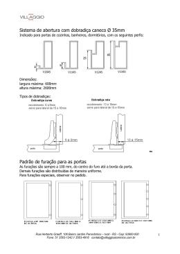 Manual de Montagem Villaggio